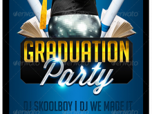 19 Standard Graduation Party Flyer Template in Photoshop with Graduation Party Flyer Template