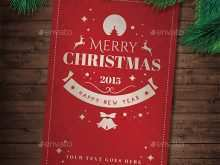 Merry Christmas Card Template Download