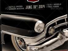 19 The Best Car Show Flyer Template Word Layouts for Car Show Flyer Template Word