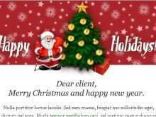 19 Visiting Christmas Card Template For Email Now for Christmas Card Template For Email