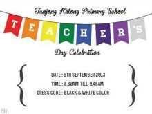 19 Visiting Invitation Card Format For Teachers Day With Stunning Design for Invitation Card Format For Teachers Day