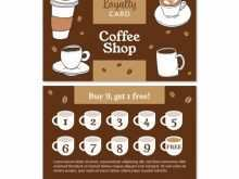 20 Adding Coffee Loyalty Card Template Free Download Maker with Coffee Loyalty Card Template Free Download