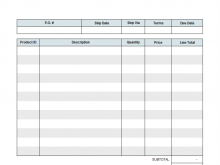 20 Best Blank Invoice Template Online Templates with Blank Invoice Template Online