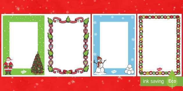 20 Best Christmas Card Template Twinkl With Stunning Design with Christmas Card Template Twinkl