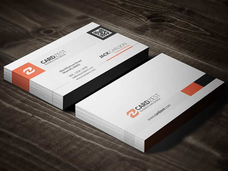 20 Blank Free Qr Code Business Card Templates Now by Free Qr Code Business Card Templates