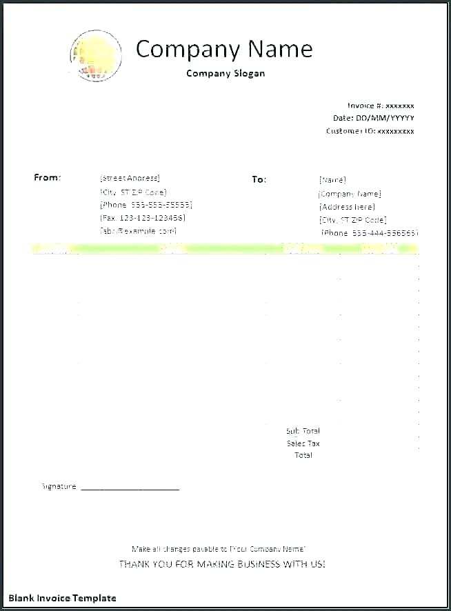 20 Create Blank Invoice Template Uk Pdf Templates with Blank Invoice Template Uk Pdf