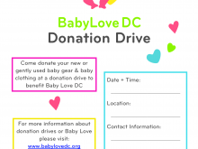 20 Creating Donation Drive Flyer Template Formating by Donation Drive Flyer Template