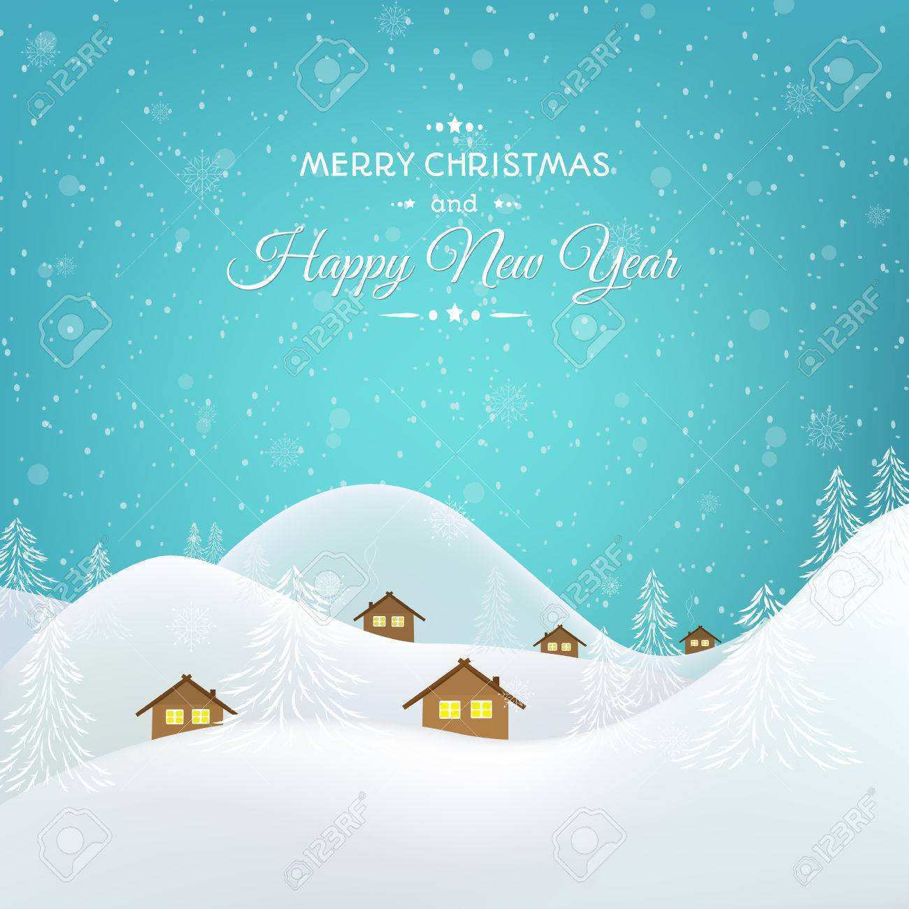 20 Creative Christmas Card Template Snow for Ms Word by Christmas Card Template Snow