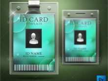 Hospital Id Card Template Psd