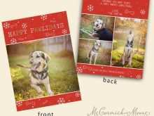 20 Customize Christmas Card Template Dog Download with Christmas Card Template Dog