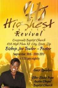 20 Customize Church Revival Flyer Template Templates for Church Revival Flyer Template