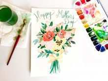 Happy Mothers Day Card Template Free