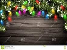 20 Customize Our Free Christmas Lights Card Template Photo for Christmas Lights Card Template