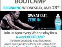 20 Customize Our Free Fitness Boot Camp Flyer Template Now for Fitness Boot Camp Flyer Template