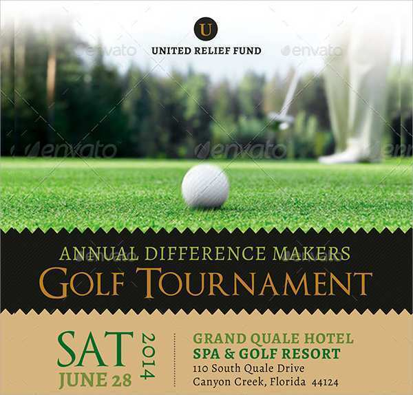 20 Customize Our Free Golf Tournament Flyer Template Maker By Golf