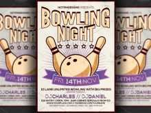 20 Free Bowling Flyer Template Word Photo with Bowling Flyer Template Word