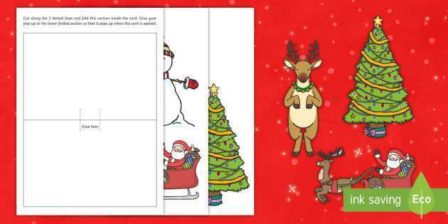 20 Free Homemade Christmas Card Templates for Ms Word by Homemade Christmas Card Templates