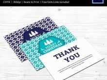 20 How To Create Christmas Thank You Card Templates Free Now for Christmas Thank You Card Templates Free