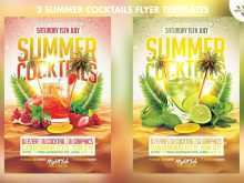 Beach Flyer Template Free
