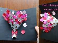 20 Online Flower Card Templates Youtube Maker by Flower Card Templates Youtube