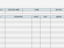 20 Online Sample Contractor Invoice Template For Free for Sample Contractor Invoice Template