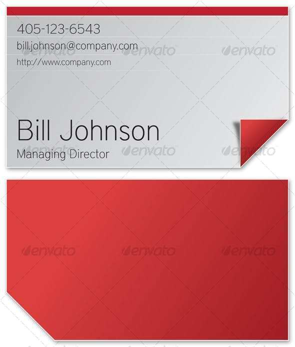 20 Printable 2 Fold Business Card Template Photo by 2 Fold Business Card Template
