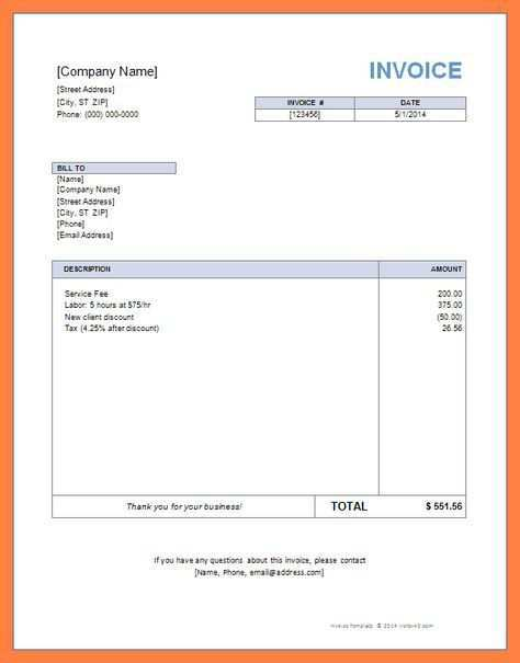 20 Report Company Invoice Template Uk Download with Company Invoice Template Uk