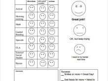 20 Standard A Report Card Template Formating with A Report Card Template