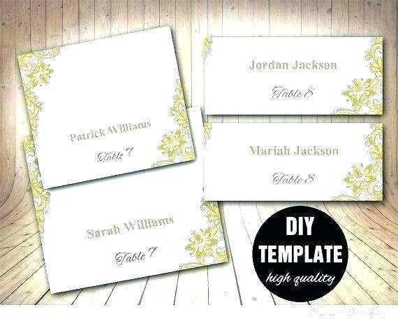 20 Standard Fold Over Place Card Template Word for Ms Word by Fold Over Place Card Template Word