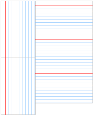 20 The Best 3x5 Index Card Template Printable Layouts With 3x5