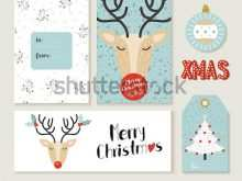 20 The Best Christmas Card Tags Template in Word for Christmas Card Tags Template