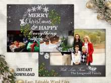 20 Xmas Card Template Word For Free with Xmas Card Template Word
