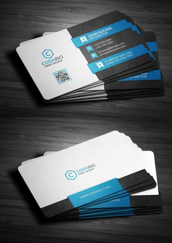 21 Best Business Card Templates Nulled for Ms Word for Business Card Templates Nulled