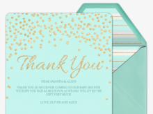 Thank You Card Template Spanish
