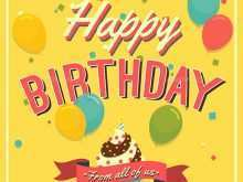 21 Birthday Card Template Word Doc Download with Birthday Card Template Word Doc