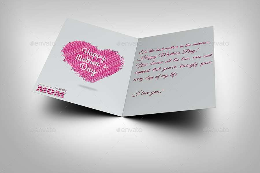 21 Blank Mothers Card Templates Greeting in Word with Mothers Card Templates Greeting