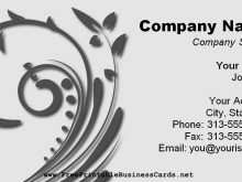 21 Create Business Card Templates Printable in Word with Business Card Templates Printable