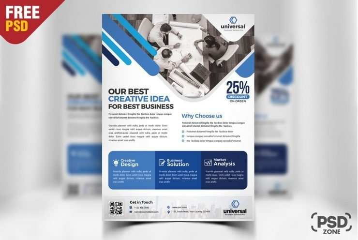 21 Create Business Flyer Templates Psd in Word for Business Flyer Templates Psd