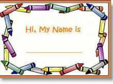 21 Create Child Name Card Template in Word for Child Name Card Template