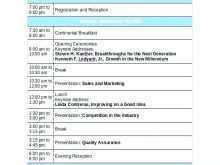 21 Creative Agenda Template For Seminar Maker with Agenda Template For Seminar