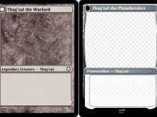 21 Customize Card Template Magic The Gathering in Photoshop by Card Template Magic The Gathering