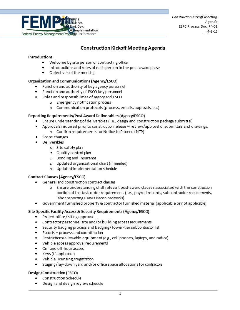 21 Customize Construction Kickoff Meeting Agenda Template in Photoshop by Construction Kickoff Meeting Agenda Template