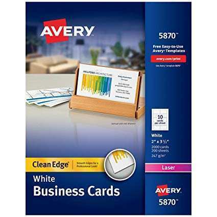 21 Customize Our Free Avery Business Card Template Laser Printer For Free for Avery Business Card Template Laser Printer