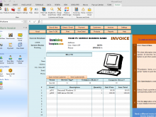 21 Customize Our Free Computer Repair Service Invoice Template by Computer Repair Service Invoice Template
