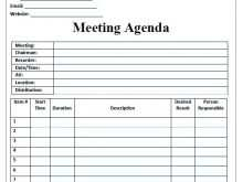 Conference Agenda Template Excel