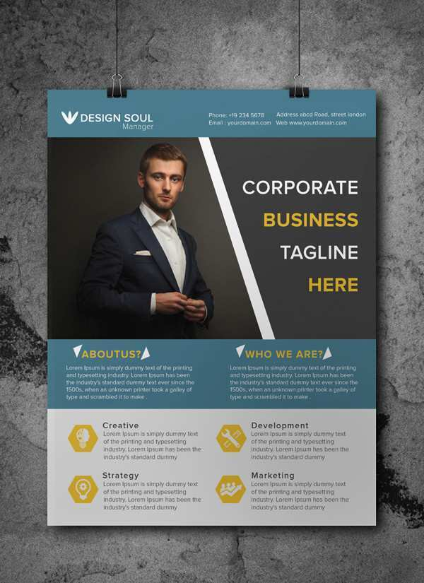21 Format Business Flyer Ad Template For Free for Business Flyer Ad Template