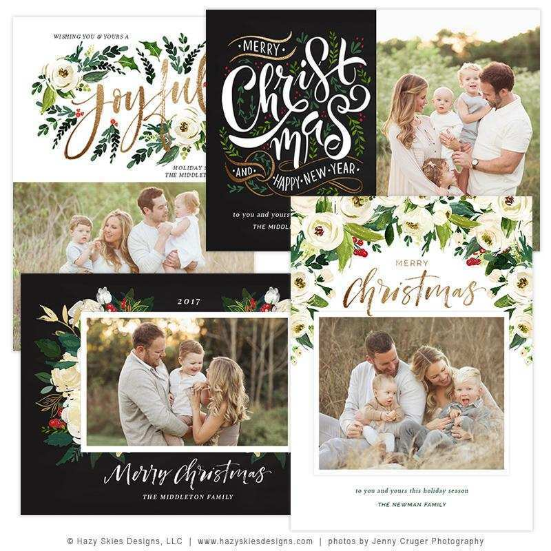21 Format Christmas Card Template Photographer in Word by Christmas Card Template Photographer