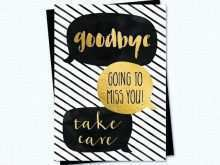 21 Format Farewell Card Templates Free Download Download with Farewell Card Templates Free Download
