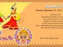 21 Format Navratri Invitation Card Format In Hindi in Photoshop for Navratri Invitation Card Format In Hindi