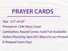 21 Free 8 Up Prayer Card Template With Stunning Design for 8 Up Prayer Card Template